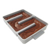 Baker's Edge Nonstick Edge Brownie Pan