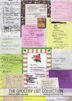 2008 Grocery List Collection calendar