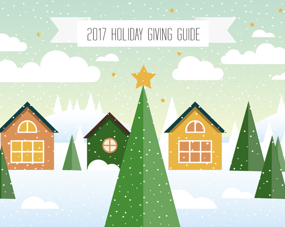 This being our 2017 (and 2018!) holiday giving guide